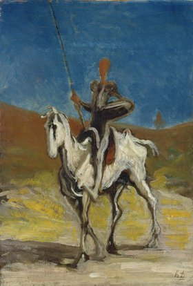 Honoré Daumier: Don Quixote