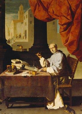 Francisco Zurbaran y Salazar: Bildnis des Padre Gonzalo de Illescas
