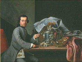 Peter Jakob Horemans: Bildnis des Silberdieners Leopold Gall