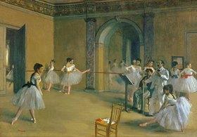 Edgar Degas: Le Foyer de la Danse a l'Opéra de la rue Le Peletier