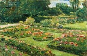 Max Liebermann: Die Blumenterrasse im Wannsee-Garten. (Liebermann Villa)