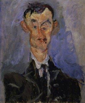 Chaim Soutine: Bildnis eines Mannes (Emile Lejeune)