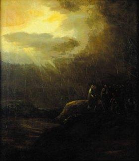 Aert de Gelder: Himmelfahrt Christi