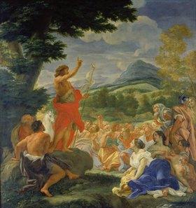 Giovanni Battista (gen. Baccicio) Gaulli: Die Predigt Johannes des Täufers