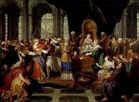 Antoine Coypel: Die Vertreibung Athalias aus dem Tempel