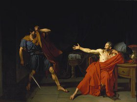 Germain-Jean Drouais: Marius in Minturnae (nach Plutarch)