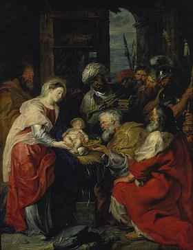 Peter Paul Rubens: Die Anbetung der Könige