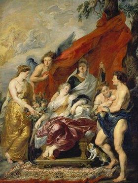 Peter Paul Rubens: Medici-Zyklus: Die Geburt Ludwigs XIII. in Fontainebleau