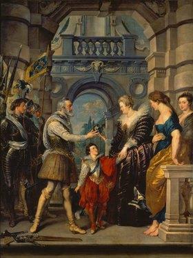 Peter Paul Rubens: Medici-Zyklus: Die Übergabe der Regentschaft
