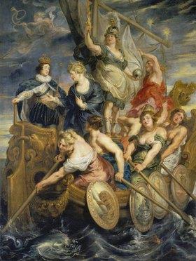 Peter Paul Rubens: Medici-Zyklus: Die Volljährigkeit Ludwigs XIII