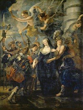 Peter Paul Rubens: Medici-Zyklus: Die Flucht der Königin aus Blois