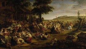 Peter Paul Rubens: Die Kirmes (oder: Bauernhochzeit)