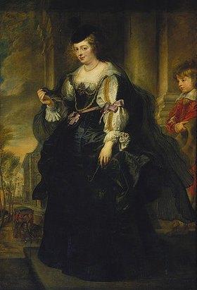 Peter Paul Rubens: Bildnis der Helene Fourment, stehend