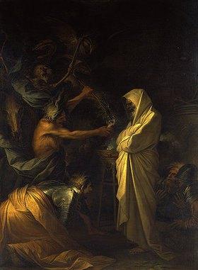 Salvator Rosa: Der Schatten Samuels erscheint Saul