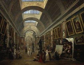 Hubert Robert: Ausstattungsprojekt für die grosse Galerie des Louvre