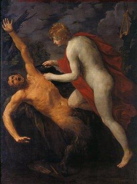 Guido Reni: Apollo schindet Marsyas
