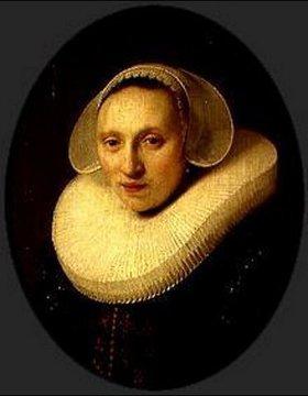 Rembrandt van Rijn: Bildnis Cornelia Pronck, Frau des Albert Cuyper