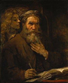 Rembrandt van Rijn: Der hl.Matthäus und der Engel