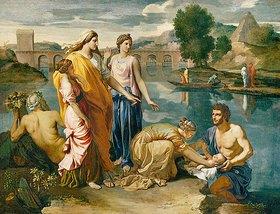 Nicolas Poussin: Die Auffindung des Moses-Knaben