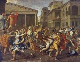 Nicolas Poussin: Der Raub der Sabinerinnen