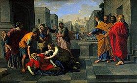 Nicolas Poussin: Der Tod der Saphira