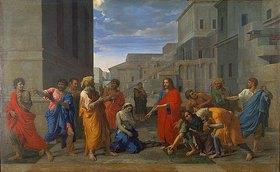 Nicolas Poussin: Christus und die Ehebrecherin