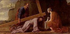 Eustache Le Sueur: Kreuztragung Christi