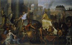 Charles Le Brun: Der Einzug Alexanders des Grossen in Babylon