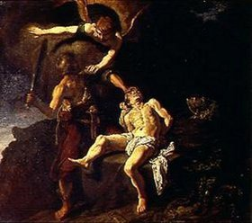 Pieter Lastman: Das Opfer Abrahams
