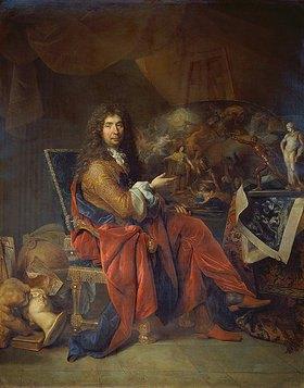 Nicolas de Largilliere: Charles Le Brun, erster Maler des Königs