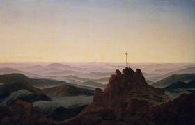 Caspar David Friedrich: Morgen im Riesengebirge