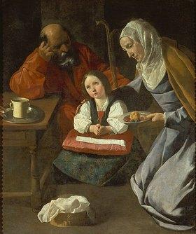 Francisco Zurbaran y Salazar: Maria, Joseph und der Jesusknabe