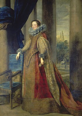 Anthonis van Dyck: Bildnis der Marquise Geromina Spinola - Doria von Genua