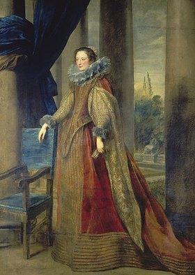 Anthonis van Dyck: Marquise Geromina Spinola - Doria von Genua, Bildnis