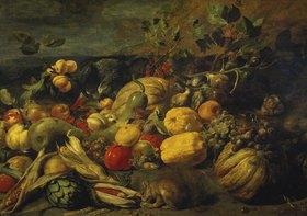 Frans Snyders: Grosses Obststilleben. 1620er-Jahre