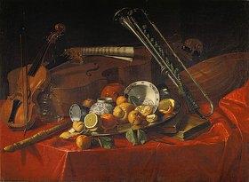 Cristoforo Munari: Stillleben mit Musik-Instrumenten