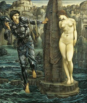 Sir Edward Burne-Jones: Der Schicksals-Felsen (The Rock of Doom)