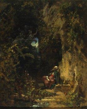 Carl Spitzweg: Der Philosoph (Hafis)