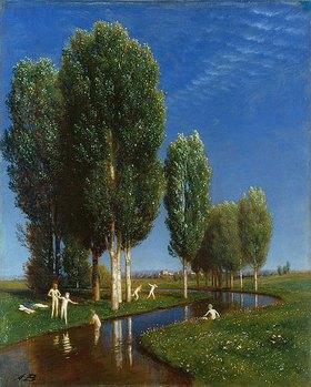 Arnold Böcklin: Der Sommertag