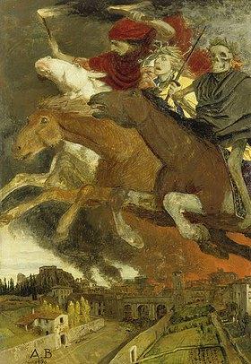 Arnold Böcklin: Der Krieg