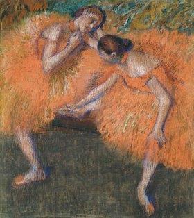 Edgar Degas: Zwei Tänzerinnen