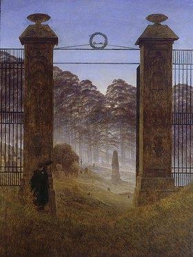 Caspar David Friedrich: Der Friedhof