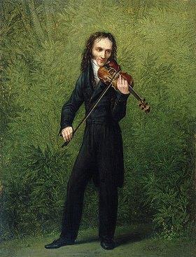 Georg Friedrich Kersting: Der Geiger Nicolo Paganini. Nach