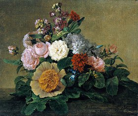 Georg Friedrich Kersting: Blumenstilleben