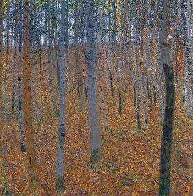 Gustav Klimt: Buchenwald. Vor
