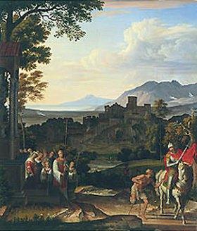 Joseph Anton Koch: Landschaft mit dem hl.Martin