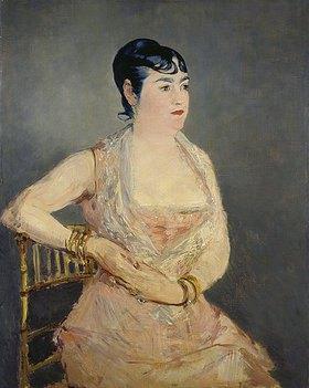 Edouard Manet: Dame in Rosa (Madame Marlin)