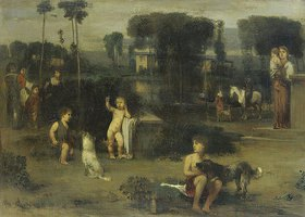 Hans von Marées: Römische Landschaft