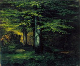 Ernst Ferdinand Oehme: Waldinneres
