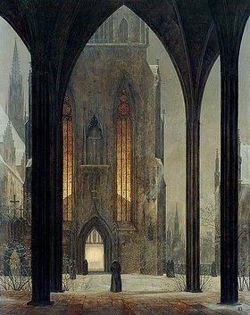Ernst Ferdinand Oehme: Dom im Winter